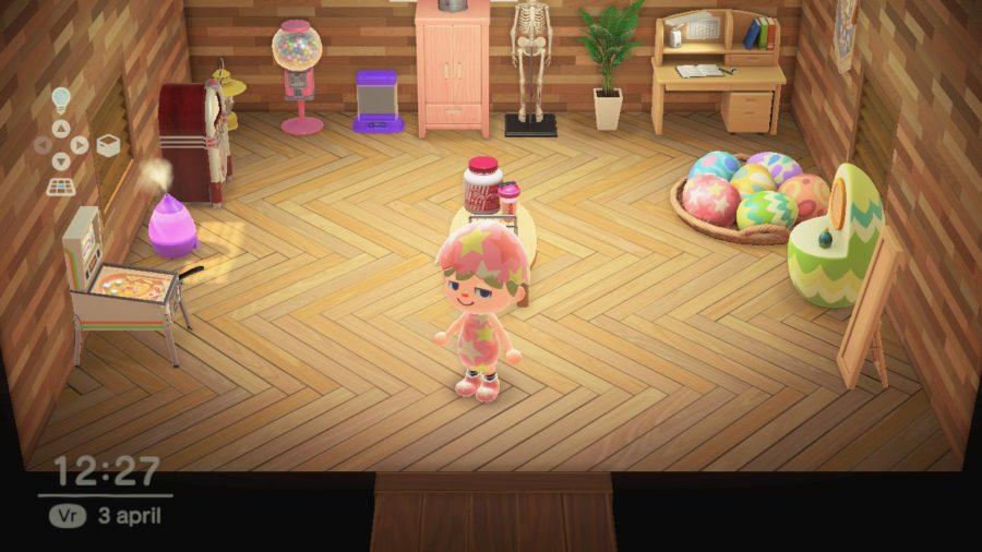 Animal Crossing - New Horizons - huis binnen