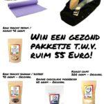 Winactie – Win een gezond pakketje t.w.v. ruim 55 Euro met o.a. yoga spullen en gezonde snacks!