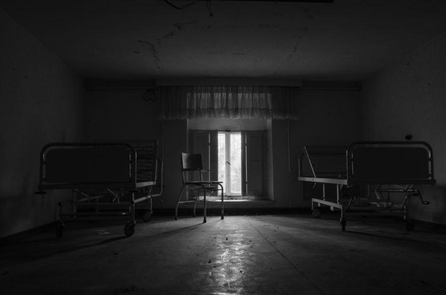 Verlaten verzorgingshuis