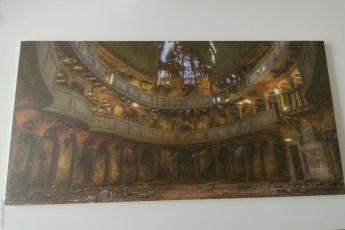 Foto op hout met white wash afwerking van Webprint