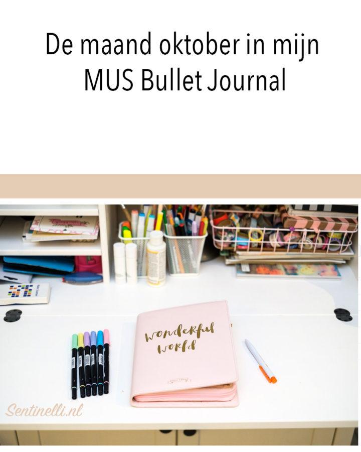 De maand oktober in mijn MUS Bullet Journal