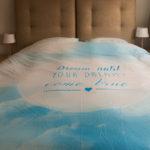 Dream Blue dekbedovertrek via LivingComfort + kortingscode