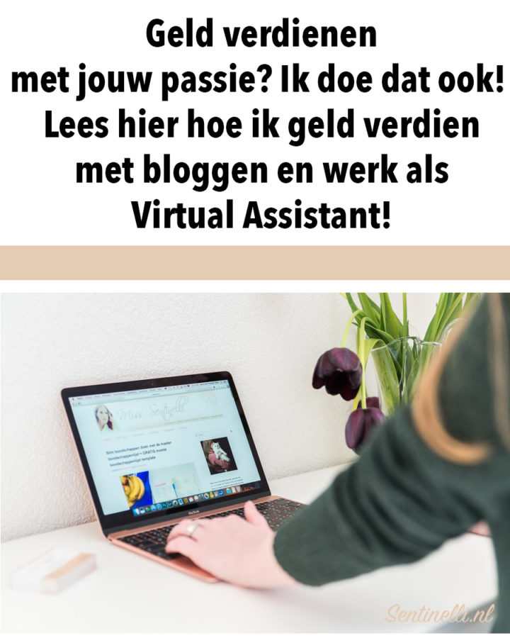 Geld verdienen met jouw passie? Ik doe dat ook! Lees hier hoe ik geld verdien met bloggen en werk als Virtual Assistant!