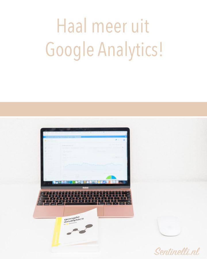 Haal meer uit Google Analytics
