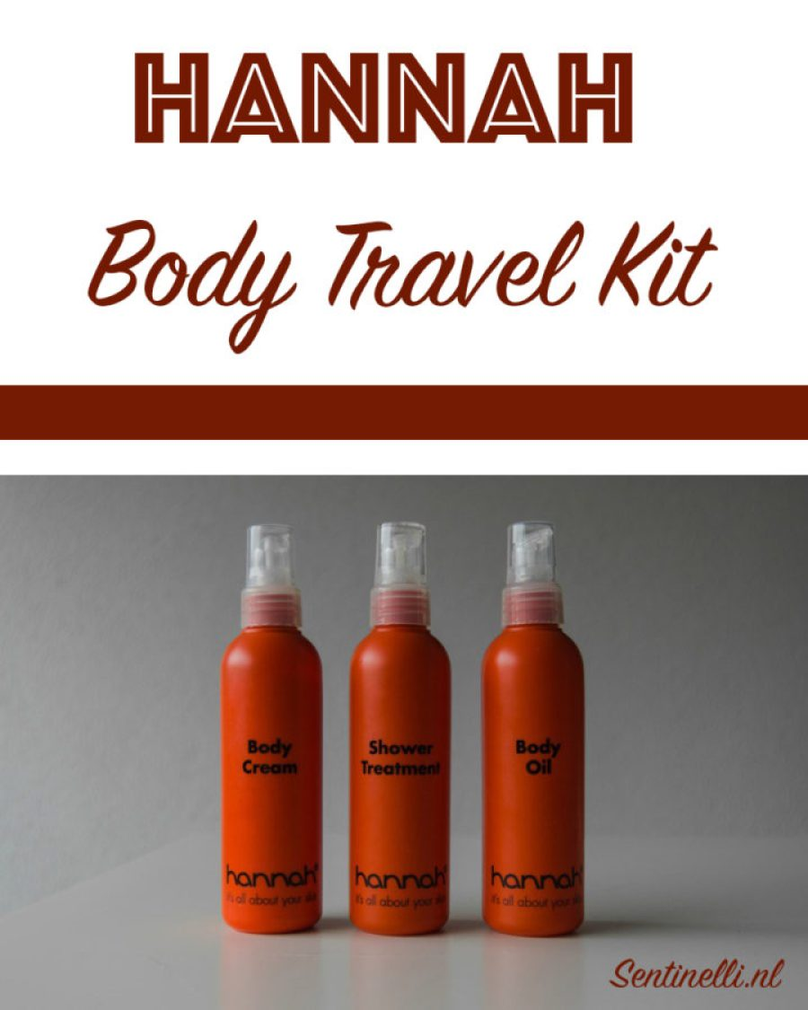 Hannah Body Travel Kit
