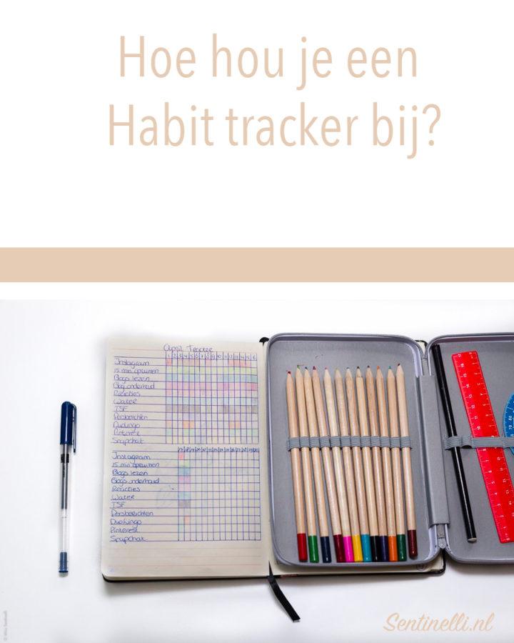 Hoe hou je een Habit tracker bij?