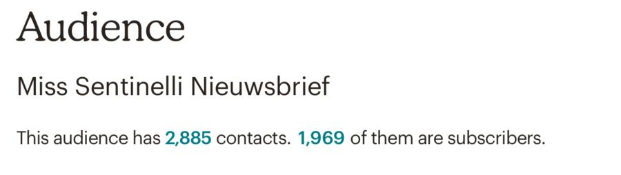 Hoe ik in juli 1.290,46 Euro (+ 163,50 Euro aan barterdeals) verdiende met bloggen en werk als Virtual Assistant - Mailchimp