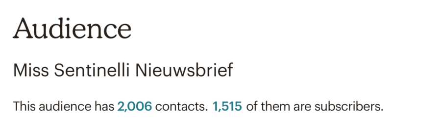 Hoe ik in juni 1.864,07 euro verdiende met bloggen en werk als Virtual Assistant - Nieuwsbrief Mailchimp