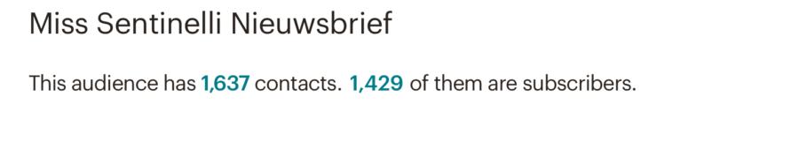 Hoe ik in november 1.007,36 Euro (+ 150 Euro aan barterdeals) verdiende met bloggen en werk als Virtual Assistant - Mailchimp