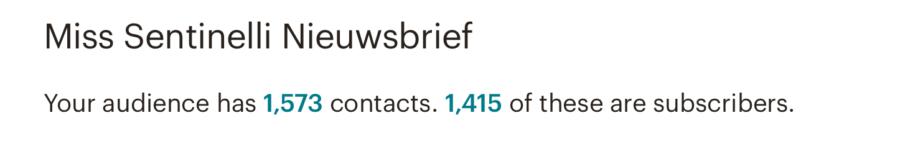 Hoe ik in oktober 1.565,31 Euro (+ 122 Euro aan barterdeals) verdiende met bloggen en werk als Virtual Assistant - Mailchimp