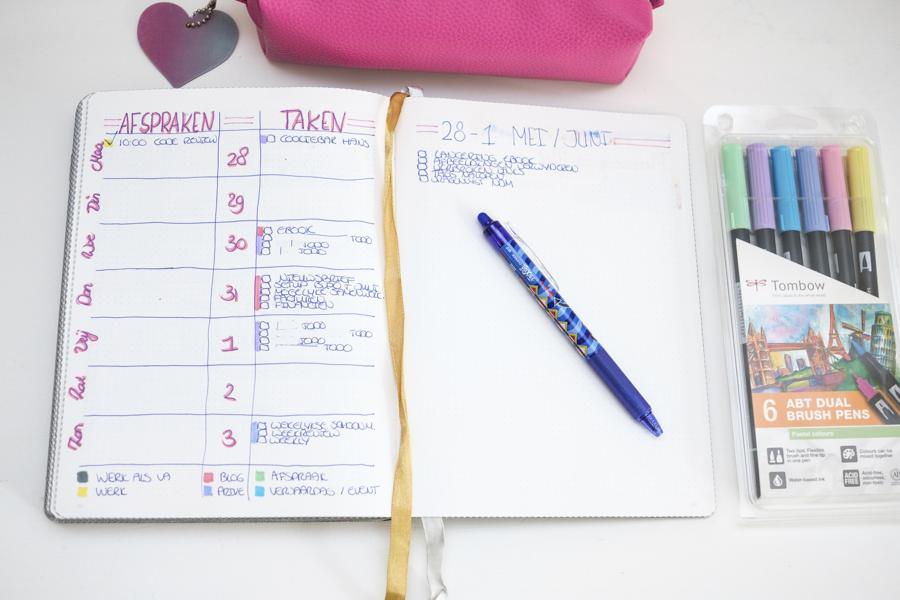 Hoe ik mijn weekplanning maak