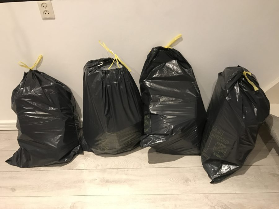 Mijn leven in foto's #59 - 30 dagen, 30 vuilniszakken challenge