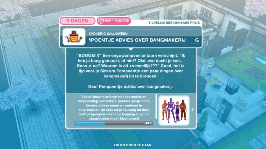 De Sims Freeplay Walkthrough - Spokerig Halloween