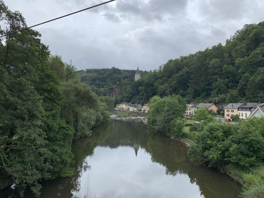 Onze vakantie in Luxemburg - Vianden kabelbaan