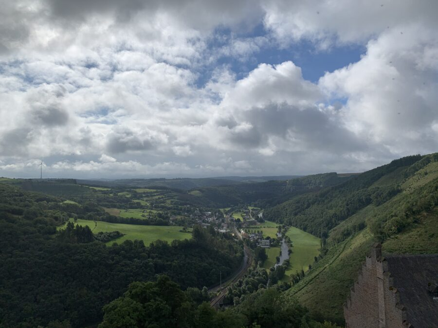 Onze vakantie in Luxemburg - Bourscheid