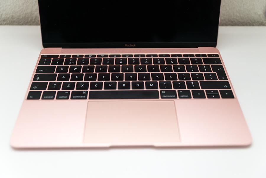 Macbook in roségoud