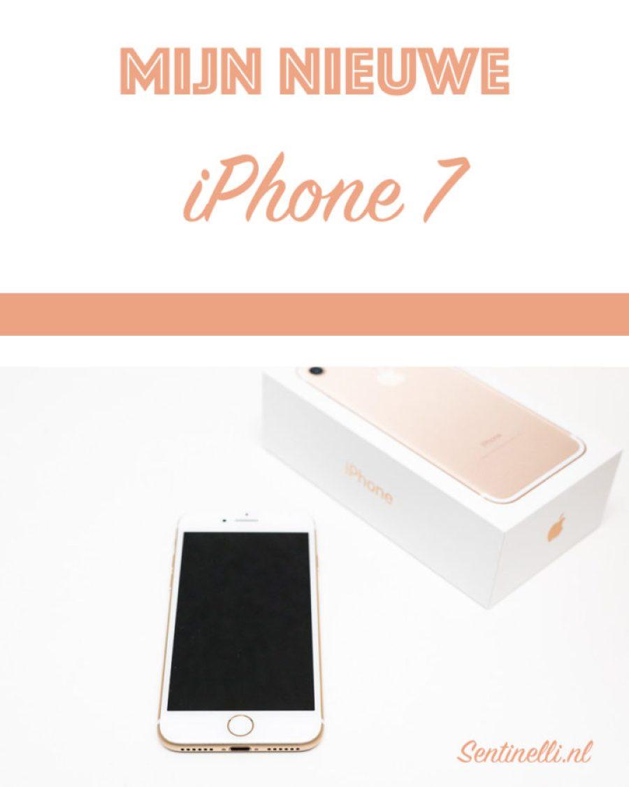 Mijn nieuwe iPhone 7