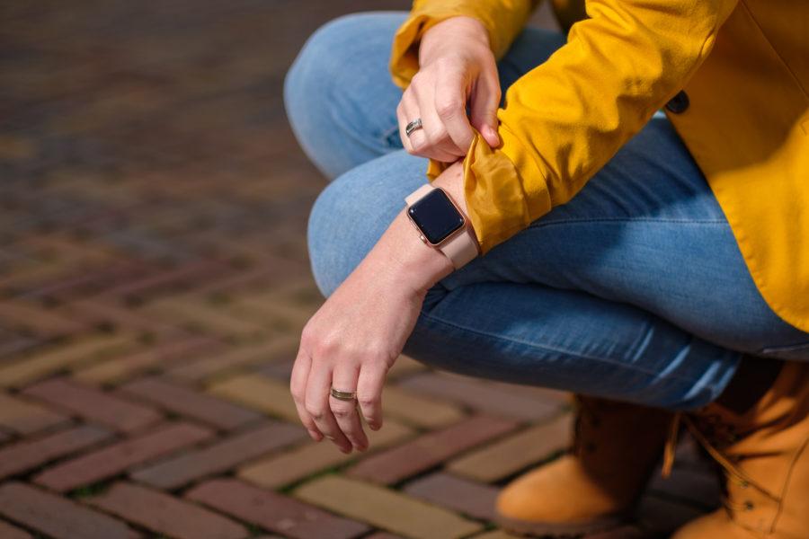 Mijn nieuwe roze Apple Watch Series 3 - 2