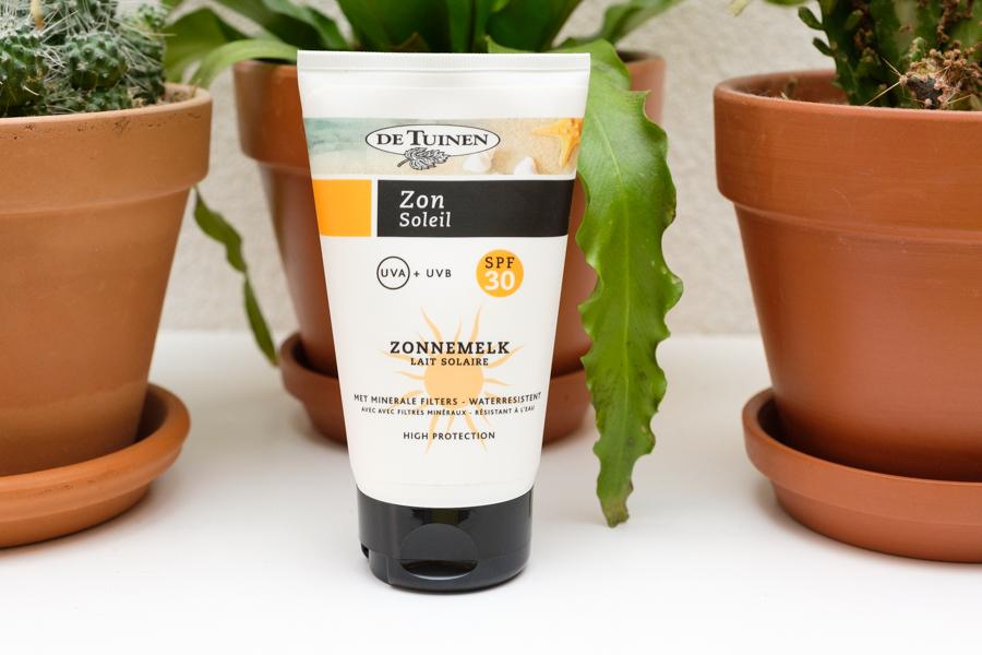 Natuurlijke zonbescherming van De Tuinen - De Tuinen Zonnemelk SPF30