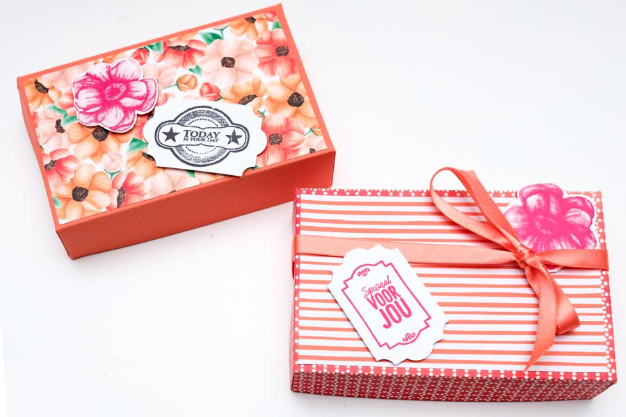 Nieuwe bestelling bij Stampin' Up + Cadeauverpakking maken