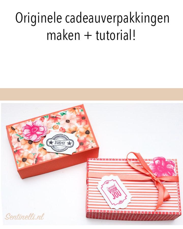 Originele cadeauverpakkingen maken + tutorial!