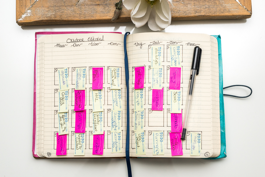Plan with me - Maandplanning van Oktober