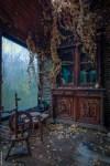 Als de natuur een verlaten huis overneemt