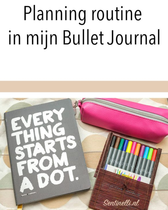 Planning routine in mijn Bullet Journal