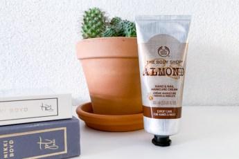 The Body Shop Almond Hand & Nail Manicure Cream