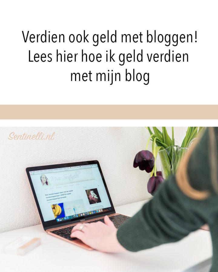 Verdien ook geld met bloggen! Lees hier hoe ik geld verdien met mijn blog