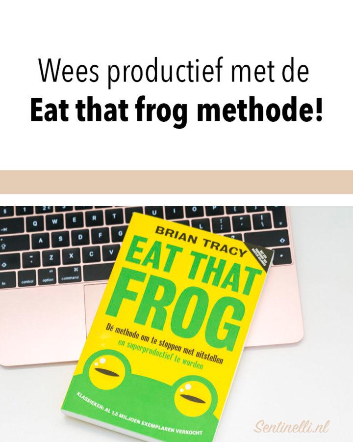 Wees productief met de Eat that frog methode!