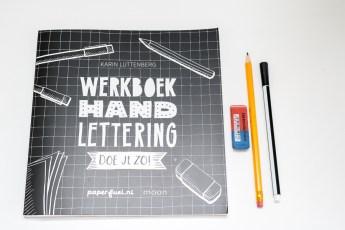 Werkboek Handlettering doe je zo!