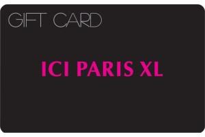 Winactie - Win een ICI Paris XL e-Gift Card van 25 Euro
