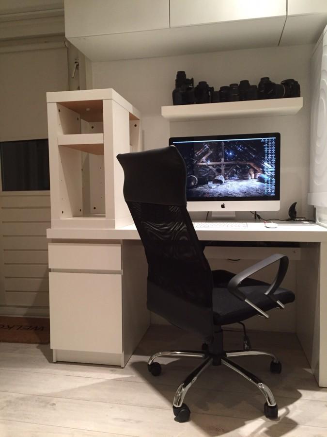 Mijn leven in foto's #28 - nieuw kantoor