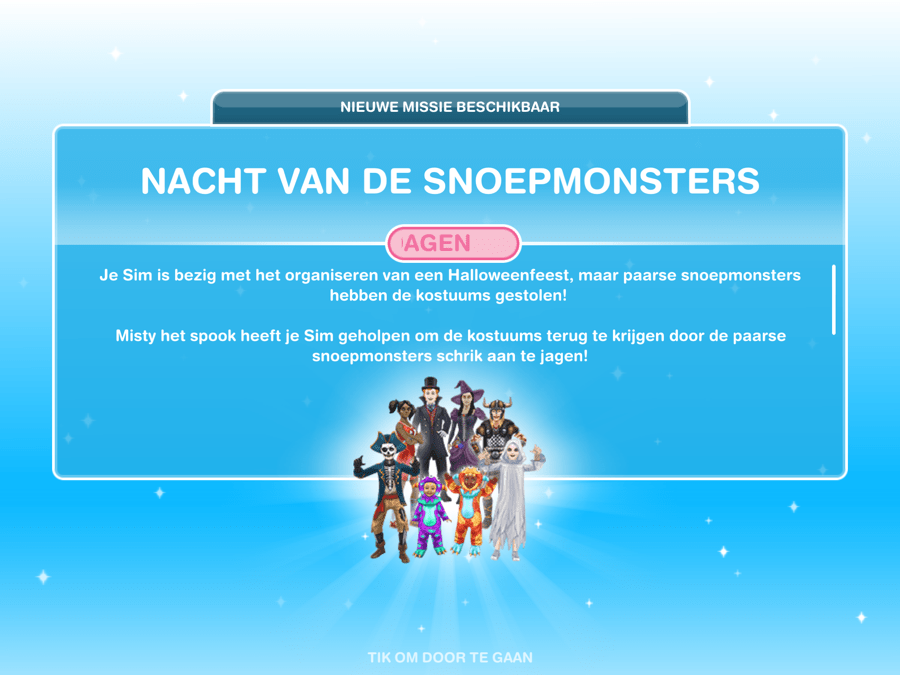 Missie walkthrough: De nacht van de snoepmonsters