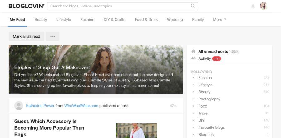 Hoe gebruik ik Bloglovin?
