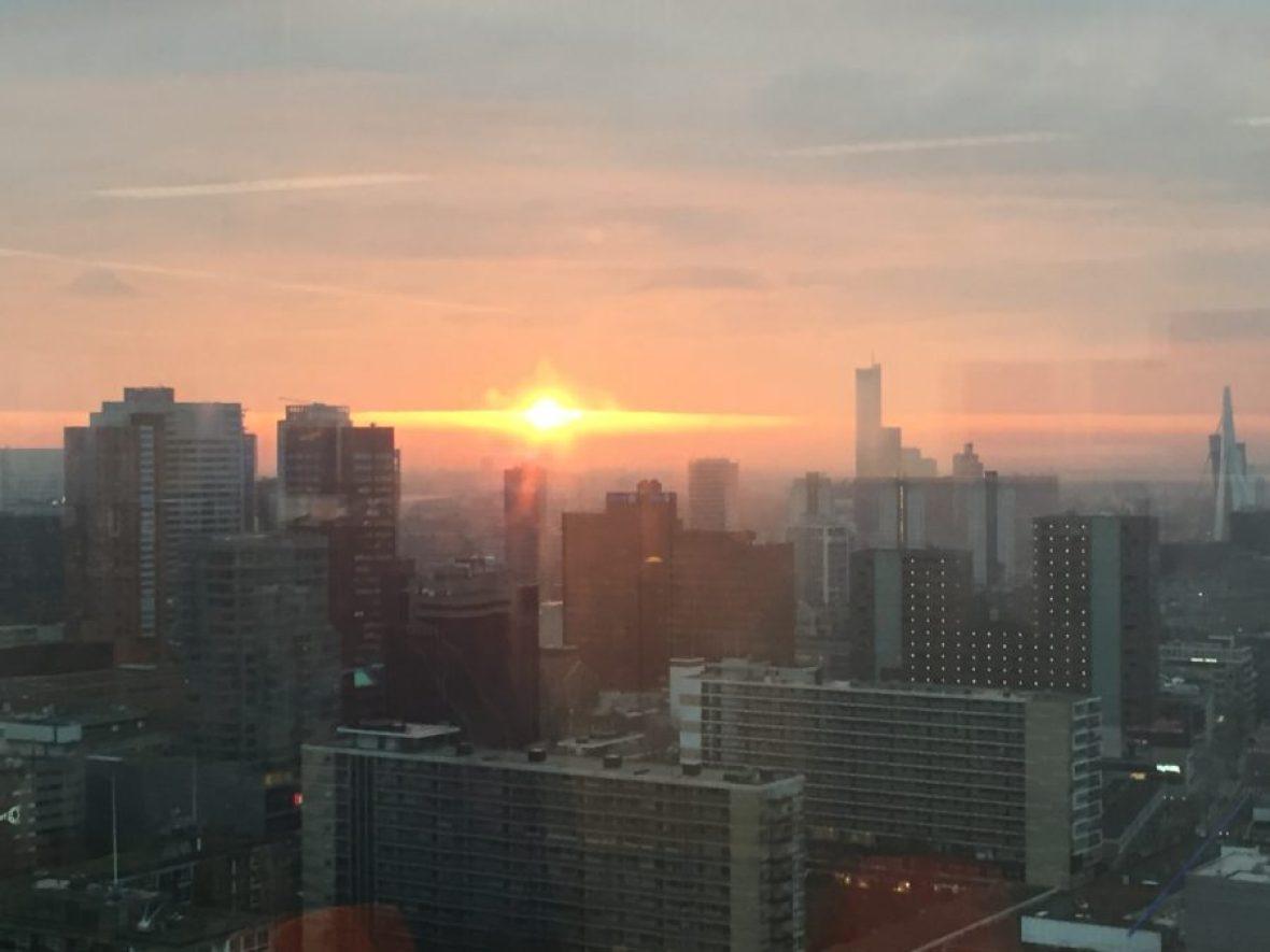 Mijn leven in foto's - Uitzicht werk zon