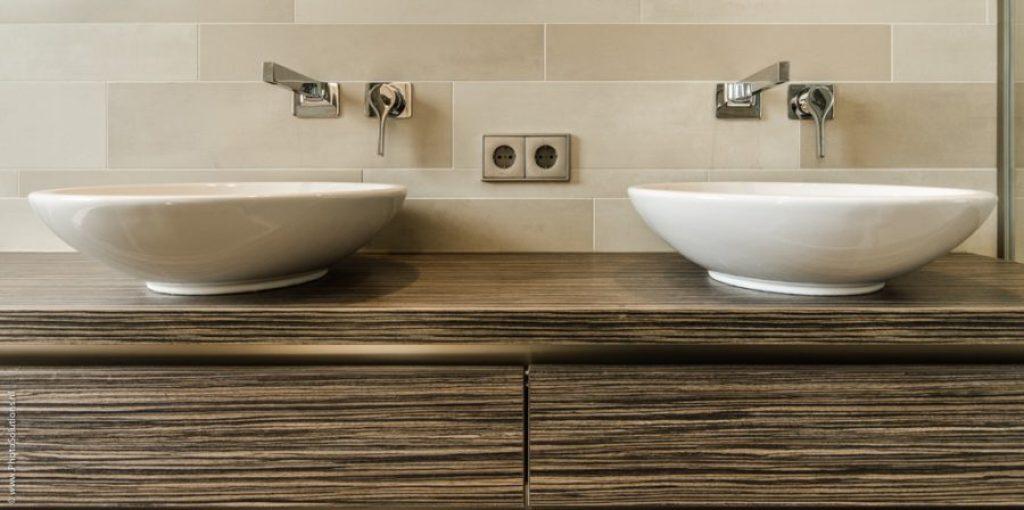 Luxe douche in een kleine badkamer