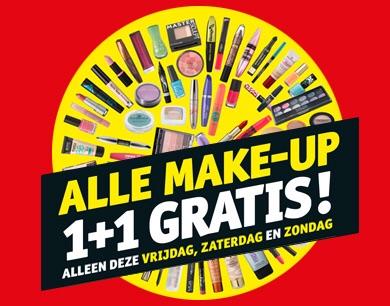 Kruidvat make-up 1+1 gratis actie: mijn grote bestelling