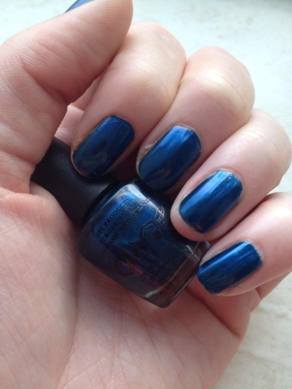 O.P.I - Unfor-greta-bly Blue