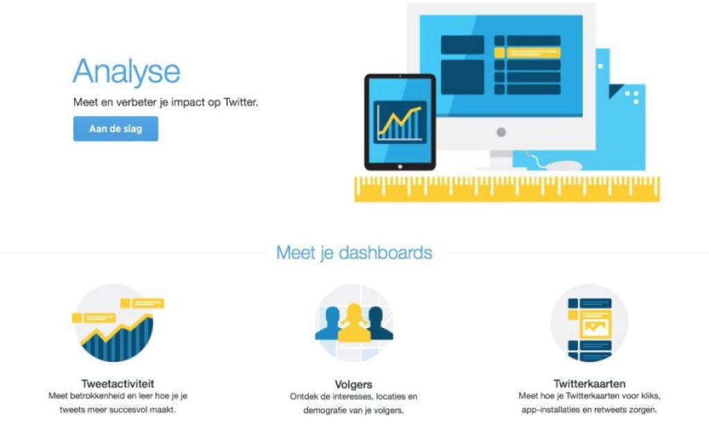 Bekijk jouw tweetactiviteit met de Twitter Analytics