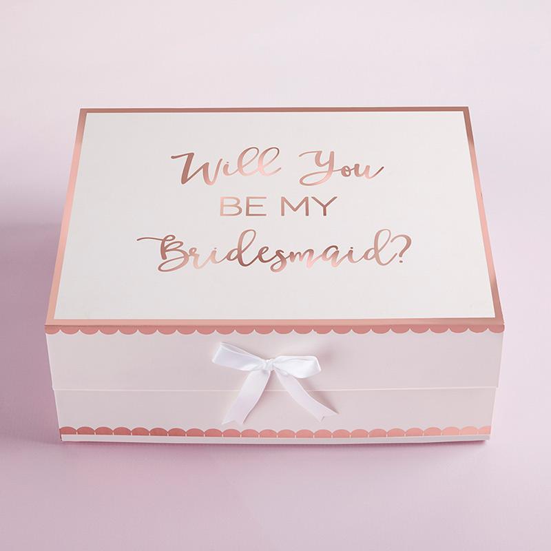 Bridesmaid Proposal Gift Box Will You Be My Bridesmaid Sentry Lane