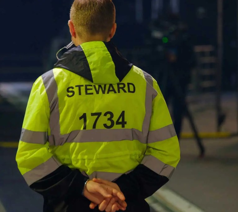 Event Steward Security Personnel