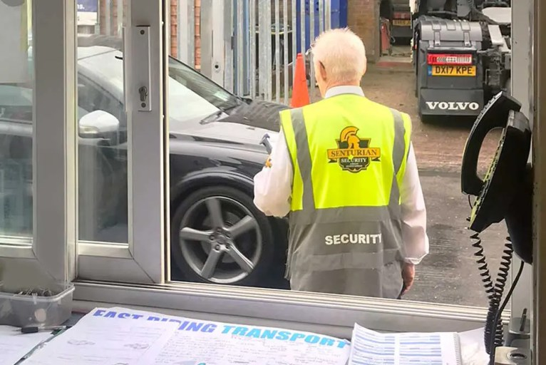 Security Contractors offering Reception and Gatehouse Duty Officers