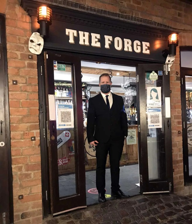 Senturian Doorman at The Forge Venue
