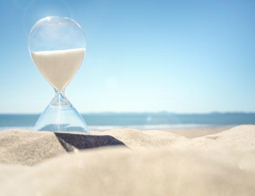 Ne Çabuk Geçti! | Kum Saati, Plaj, Yaz