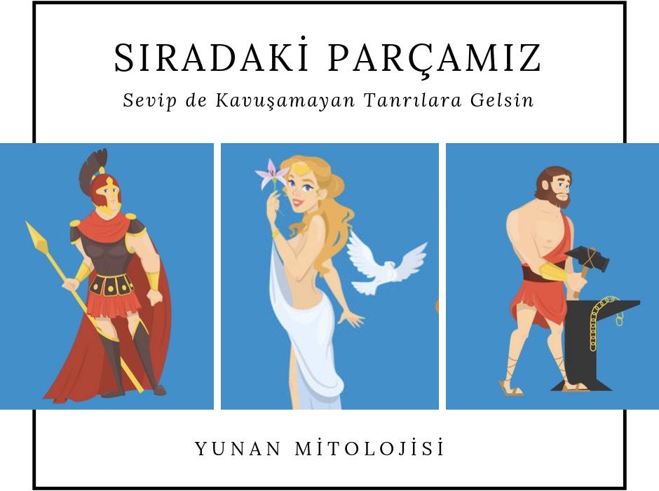 Yunan Mitolojisi | Tanrılar | Ares & Afrodit & Hephaistos | Efsane Aşklar