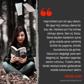 Yazarlarımızdan Alıntılar | Özge Can