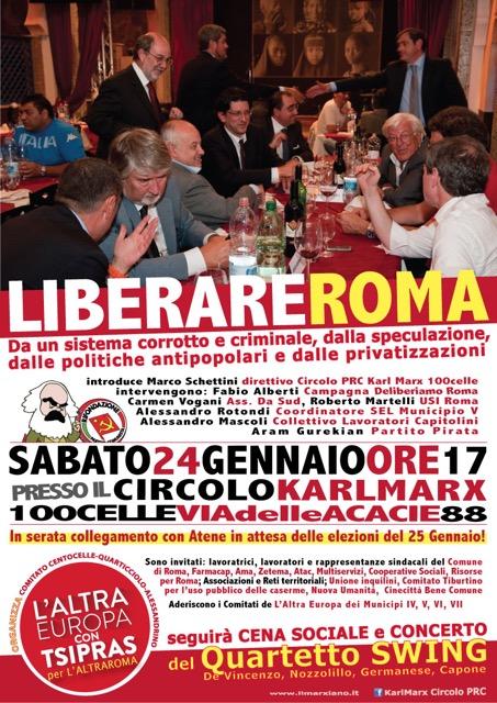 Liberare Roma 24gen2015 AltraEuropa