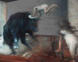 RvB-Arts_NICOLA-PUCCI_Salto-con-Toro_100x125-cm_olio-su-tela_2015_light